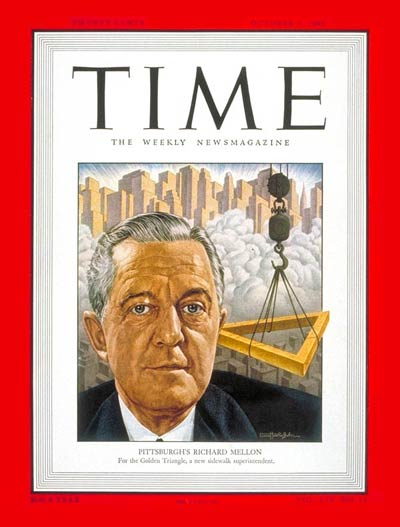 TIME Magazine Cover: Richard K. Mellon -- Oct. 3, 1949