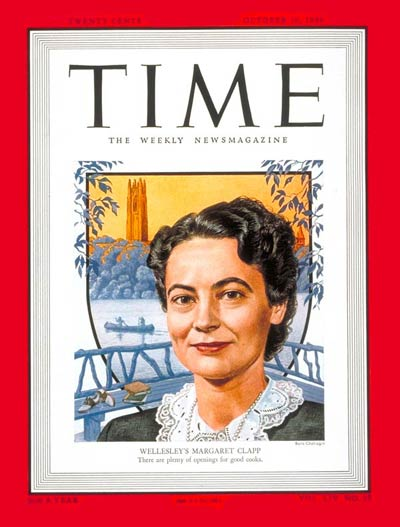 TIME Magazine Cover: Margaret Clapp -- Oct. 10, 1949