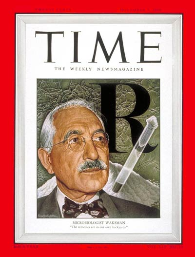 TIME Magazine Cover: Selman Waksman -- Nov. 7, 1949