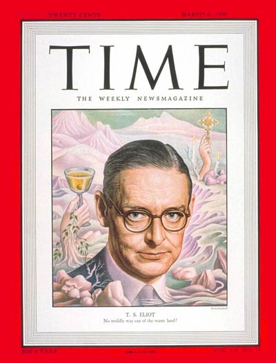 TIME Magazine Cover: T.S. Eliot -- Mar. 6, 1950