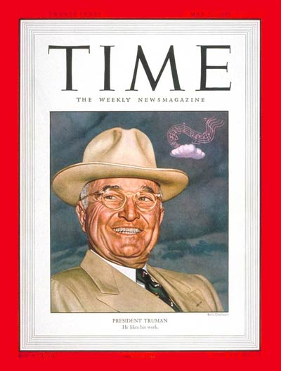 TIME Magazine Cover: Harry S. Truman -- May 22, 1950
