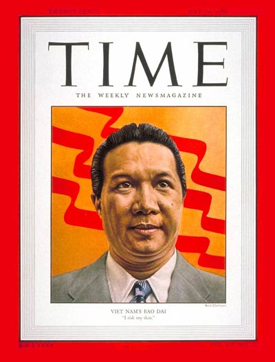 TIME Magazine Cover: Emperor Bao Dai -- May 29, 1950