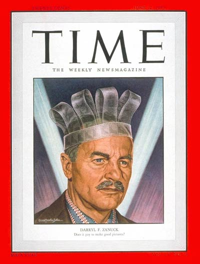 TIME Magazine Cover: Darryl F. Zanuck -- June 12, 1950