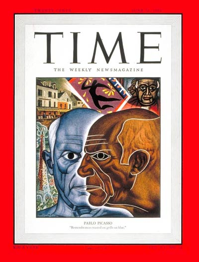 TIME Magazine Cover: Pablo Picasso -- June 26, 1950