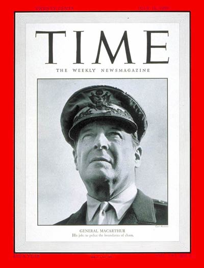 TIME Magazine Cover: General Douglas MacArthur -- July 10, 1950