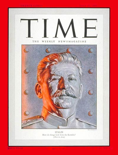TIME Magazine Cover: Joseph Stalin -- July 17, 1950