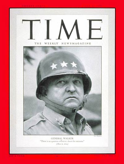 TIME Magazine Cover: General Walton Walker -- July 31, 1950