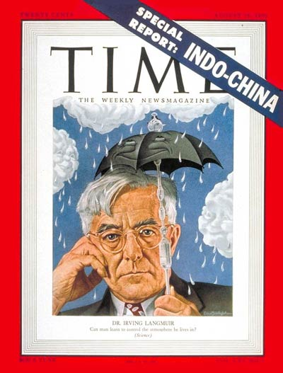 TIME Magazine Cover: Dr. Irving Langmuir -- Aug. 28, 1950