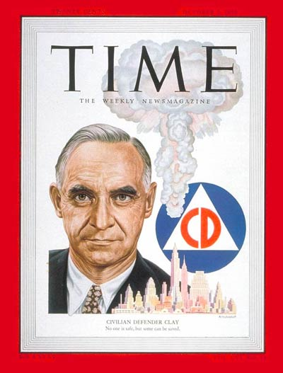 TIME Magazine Cover: Lucius Clay -- Oct. 2, 1950