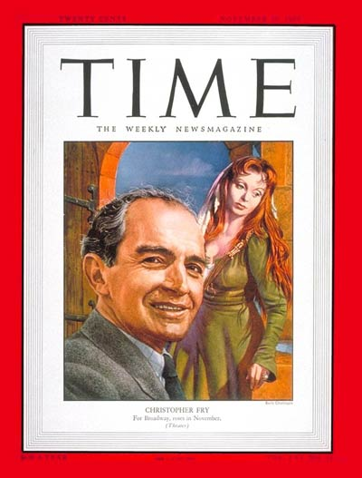TIME Magazine Cover: Christopher Fry -- Nov. 20, 1950