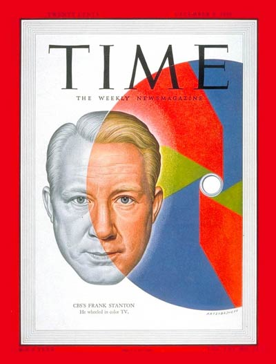 TIME Magazine Cover: Frank Stanton -- Dec. 4, 1950