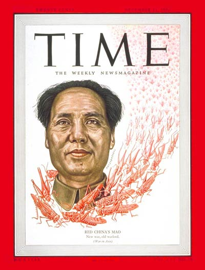 TIME Magazine Cover: Mao Tse-tung -- Dec. 11, 1950