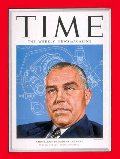 TIME Magazine Cover: Lester Lum Colbert -- Jan. 29, 1951