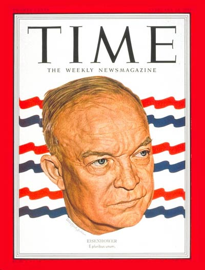 TIME Magazine Cover: Dwight D. Eisenhower -- Feb. 12, 1951