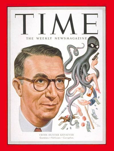 TIME Magazine Cover: Estes Kefauver -- Mar. 12, 1951