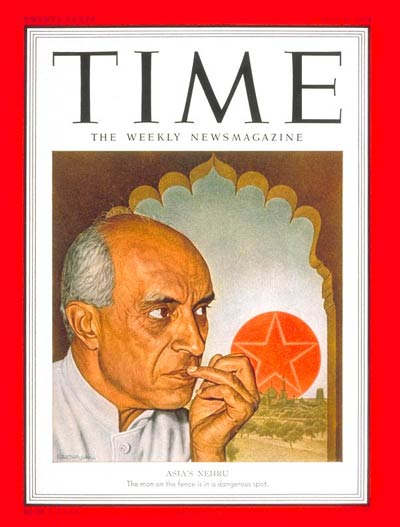 TIME Magazine Cover: Jawaharlal Nehru -- May 7, 1951