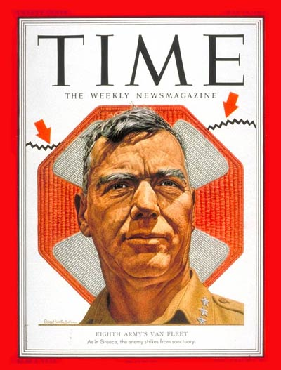 TIME Magazine Cover: Lt. General Van Fleet -- May 14, 1951