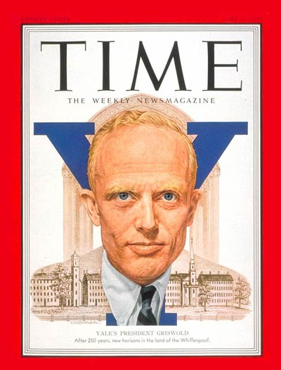 TIME Magazine Cover: A. Whitney Griswold -- June 11, 1951