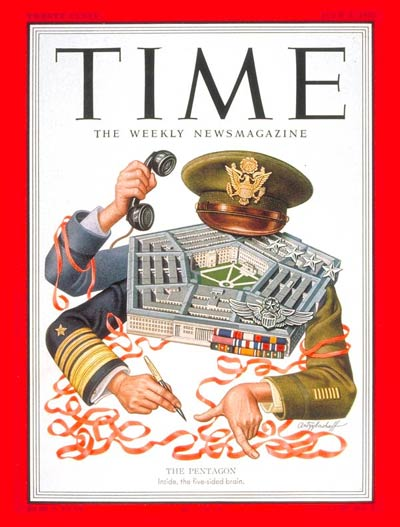 TIME Magazine Cover: The Pentagon -- July 2, 1951