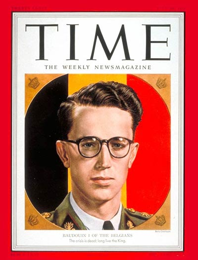 TIME Magazine Cover: King Baudouin I -- July 30, 1951