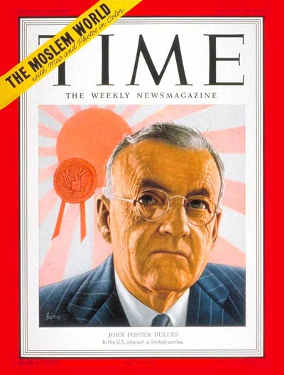 TIME Magazine Cover: John Foster Dulles -- Aug. 13, 1951