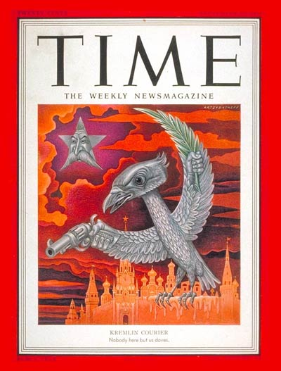 TIME Magazine Cover: Kremlin Courier -- Sep. 17, 1951