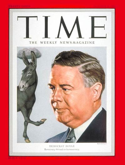 TIME Magazine Cover: William M. Boyle -- Oct. 8, 1951