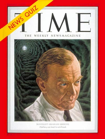 TIME Magazine Cover: Graham Greene -- Oct. 29, 1951