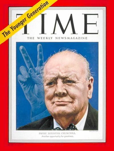 TIME Magazine Cover: Winston Churchill -- Nov. 5, 1951