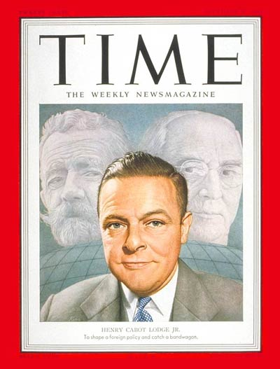TIME Magazine Cover: Henry Cabot Lodge Jr. -- Dec. 17, 1951