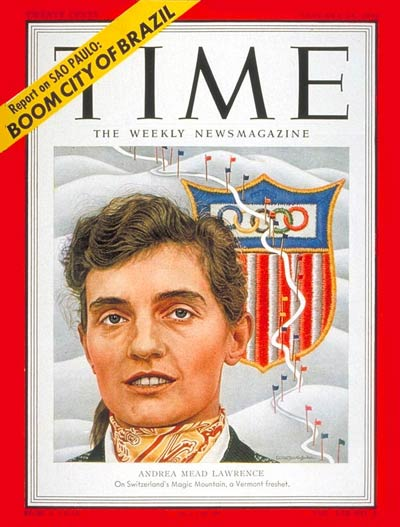 TIME Magazine Cover: Andrea Mead Lawrence -- Jan. 21, 1952