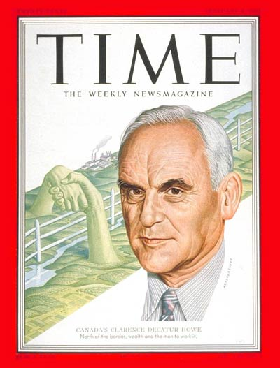 TIME Magazine Cover: Clarence Decatur Howe -- Feb. 4, 1952
