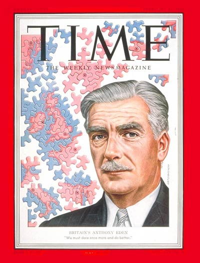TIME Magazine Cover: Anthony Eden -- Feb. 11, 1952