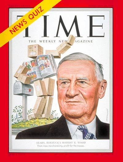 TIME Magazine Cover: Robert E. Wood -- Feb. 25, 1952