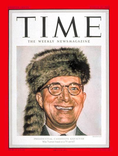 TIME Magazine Cover: Estes Kefauver -- Mar. 24, 1952