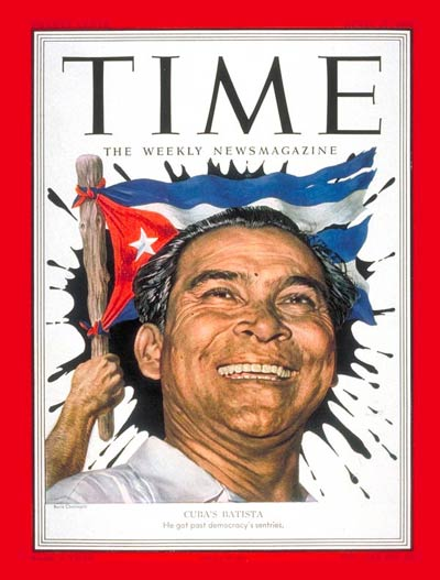 TIME Magazine Cover: Fulgencio Batista -- Apr. 21, 1952