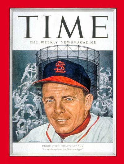 TIME Magazine Cover: Eddie Stanky -- Apr. 28, 1952