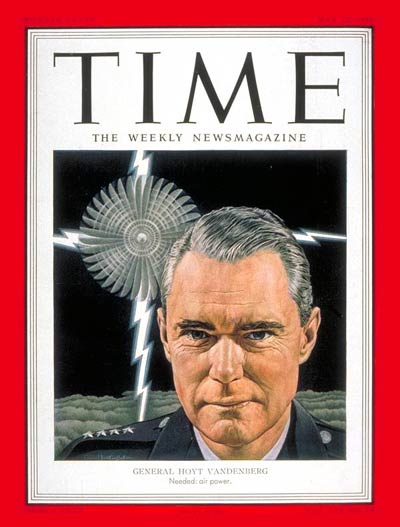 TIME Magazine Cover: General Hoyt Vandenberg -- May 12, 1952