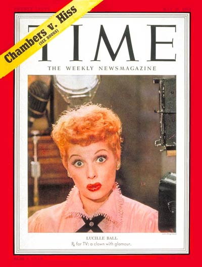 TIME Magazine Cover: Lucille Ball -- May 26, 1952