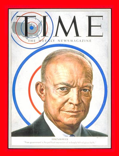 TIME Magazine Cover: Dwight D. Eisenhower -- June 16, 1952