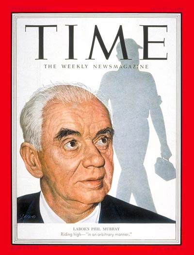 TIME Magazine Cover: Philip Murray -- Aug. 4, 1952