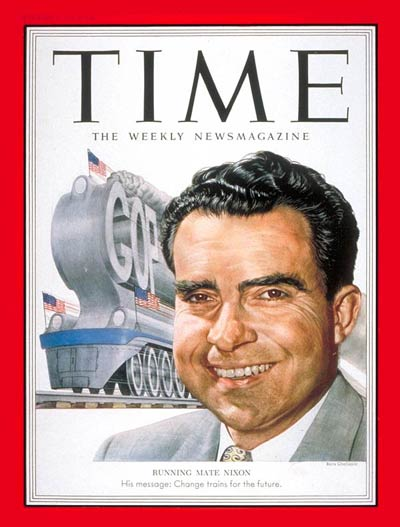 TIME Magazine Cover: Richard Nixon -- Aug. 25, 1952