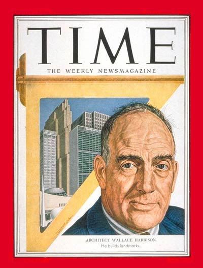 TIME Magazine Cover: Wallace K. Harrison -- Sep. 22, 1952