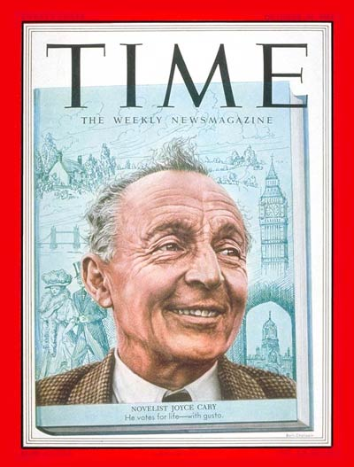 TIME Magazine Cover: Joyce Cary -- Oct. 20, 1952