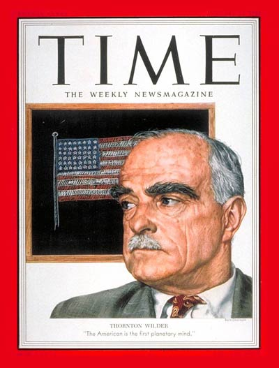 TIME Magazine Cover: Thornton Wilder -- Jan. 12, 1953