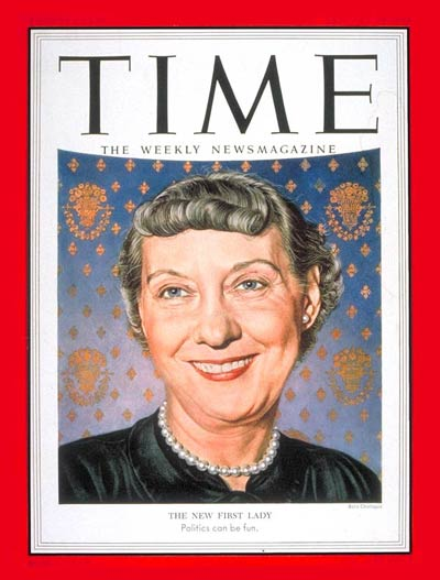 TIME Magazine Cover: Mamie Eisenhower -- Jan. 19, 1953