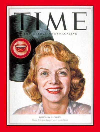 TIME Magazine Cover: Rosemary Clooney -- Feb. 23, 1953