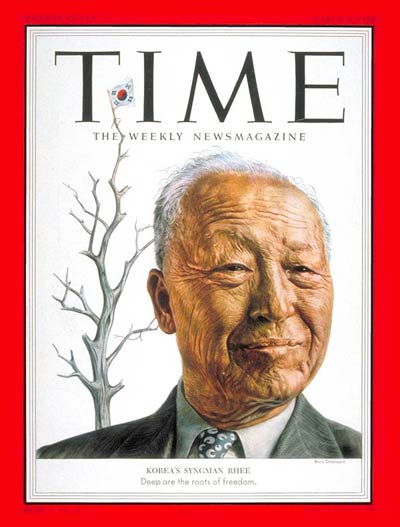 TIME Magazine Cover: Syngman Rhee -- Mar. 9, 1953