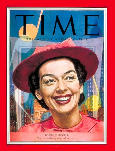 TIME Magazine Cover: Rosalind Russell -- Mar. 30, 1953