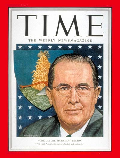 TIME Magazine Cover: Ezra T. Benson -- Apr. 13, 1953